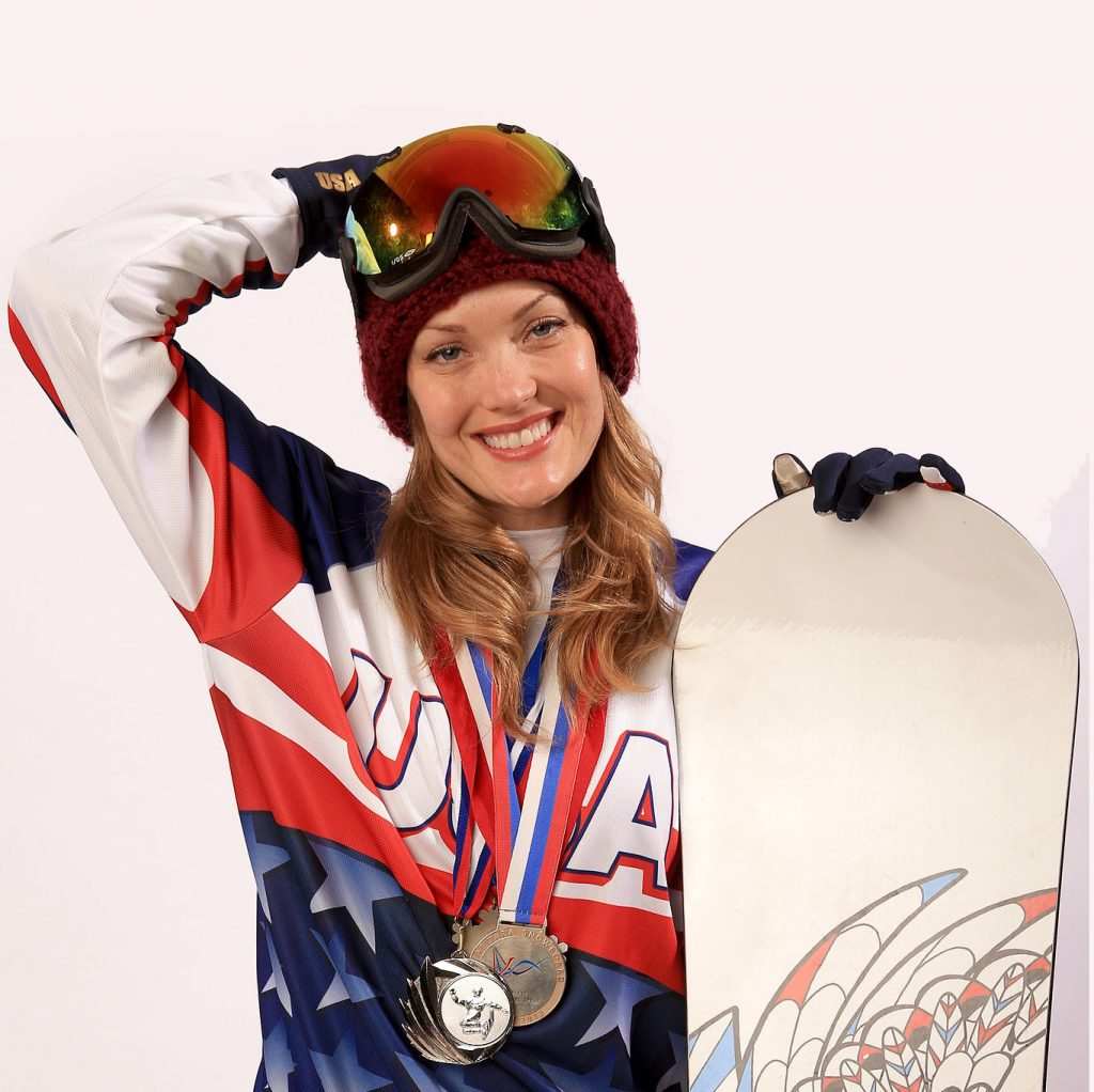 Amy Purdy- Olampic - medal