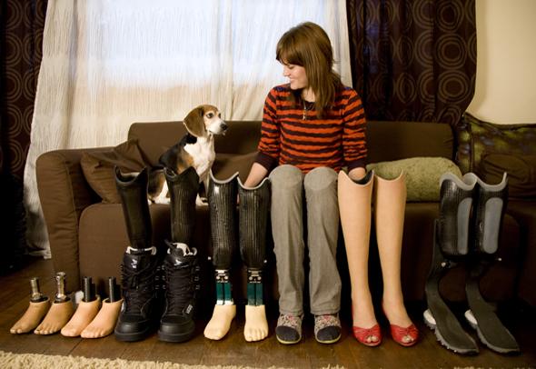 Amy purdy- alt of feet